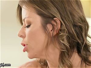 MommysGirl Step-Daughter Spied Alexis Fawx blasting