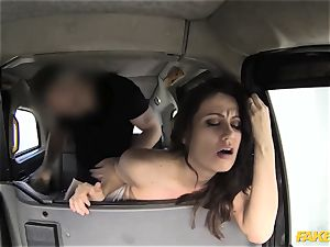 faux taxi scorching minx returns for raunchy assfuck