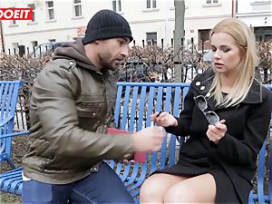 LETSDOEIT - super-hot ash-blonde Tricked Into fuck-a-thon By Czech fellow