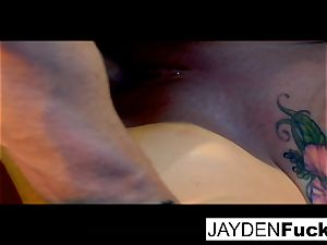 Jayden gets engaged on a lucky solo penis