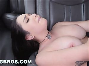 BANGBROS - giant bosoms pornographic star Karlee Grey on poke Bus
