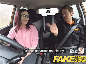 fake Driving college nubile Creampied by UK teacher