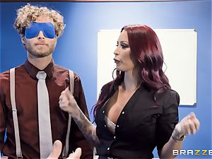 ultra-kinky office antics with Monique Alexander