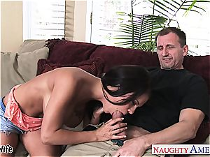 busty wife Peta Jensen take man sausage