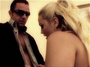 porn honey Tori ebony is wedged in suspenders