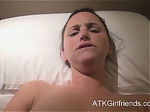 pov with hope Howell in Singapore completes with creampie