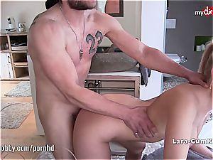 My filthy hobby - Lara-Cumkitten face full of cum