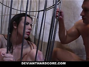 DeviantHardcore - Casey gets a mouth-watering fetish fuck