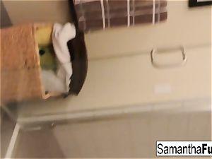 Samantha Home flick Morning fun