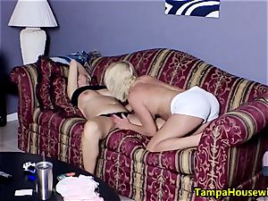 2 crazy damsels with playthings