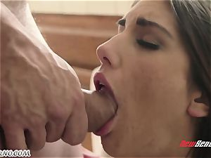 dude smashes the wifey of his junior step-brother August Ames