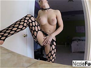 Nicole's self shot solo getting off