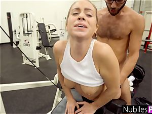drilling Her Tinder appointment For A exercise - GymSelfie S1:E6