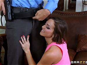 Abigail Mac gets shafted by a super-fucking-hot cop in uniform