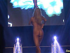 kinky flexi stepmom nude on stage
