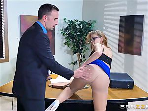 Britney Amber getting torn up in her ass and vulva