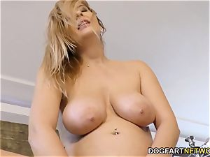 Candy Alexa Know How To deepthroat And pound A giant black manhood