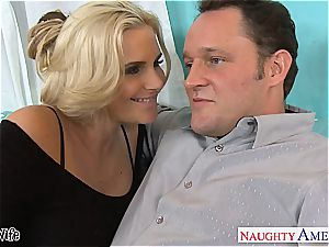 sizzling wife Phoenix Marie gets rosy fuckbox torn up