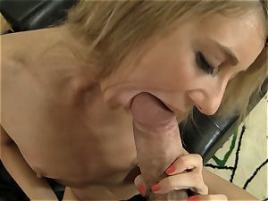 tanned light-haired riding Rocco Siffredi