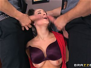 Ashley Adams liking two shafts at one time