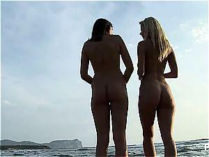 Eva and Veronika taking a ramble