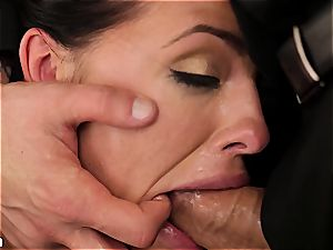 Adriana Chechik's pink hole gets creampied