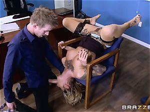 Kleio Valentien penis rammed by Danny D