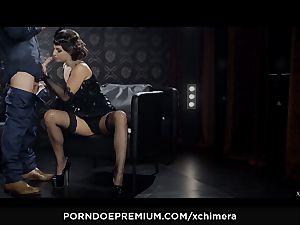 XCHIMERA - Amirah Adara cunt internal ejaculation in fetish shag