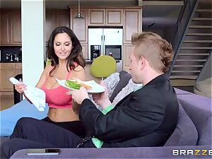 Ava Addams is boned in both her humid fuck holes