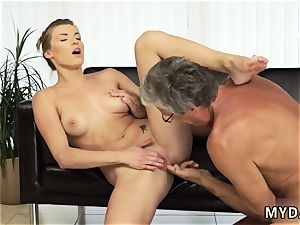 senior mommy romps associate comrade first-ever time fuck-a-thon with her boypatron´s dad after