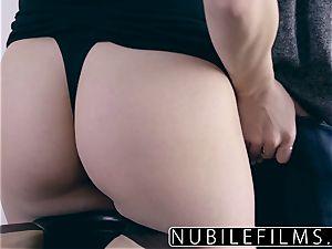NubileFilms - cuckold wifey Wants fuckpole And jizm