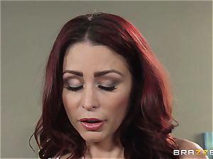 wifey Lezley Zen gets vengeance on wondrous masseuse Monique Alexander