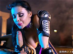 Aletta Ocean jammed with the monster prick of Danny D