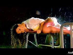 glamour fucking with a soaking moist Asa Akira