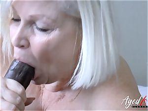 AgedLovE Lacey Starr hard-core interracial smash