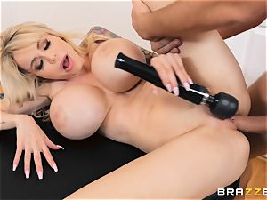 pounding the vulva of insatiable gigantic FF fun bags Danielle Derek