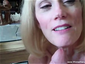 cuckold grandmother Is Addicted To jism
