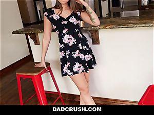 DadCrush - molten nubile Step-Daughter Bribed To poke
